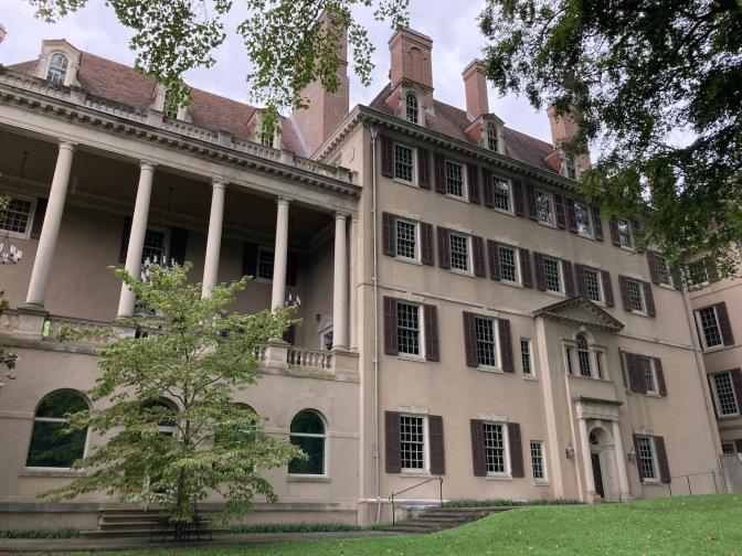 Large mansion.
