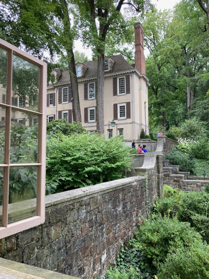 View of Winterthur Mansion.