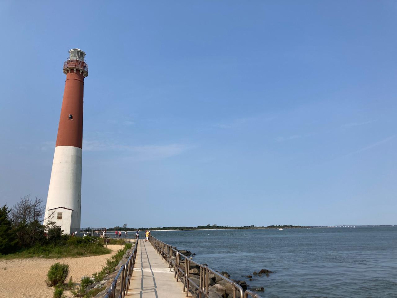 Barnegat Lighthouse.