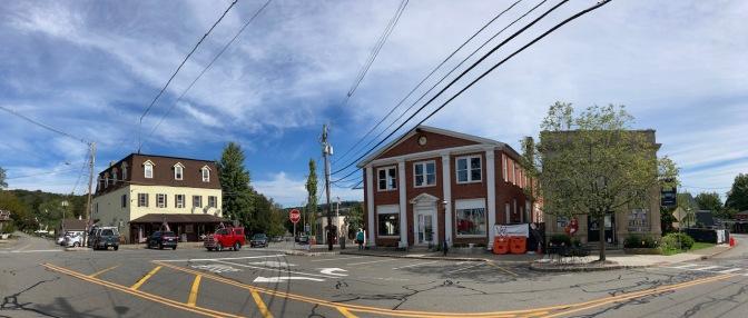 Panorama of downtown Bernardsville.