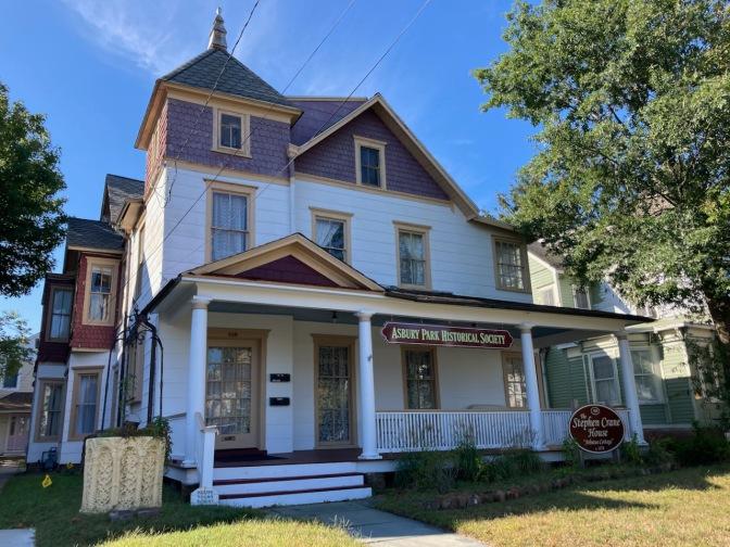 Exterior of Asbury Park Historical Society.